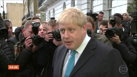 Boris Johnson lidera a disputa para substituir Theresa May
