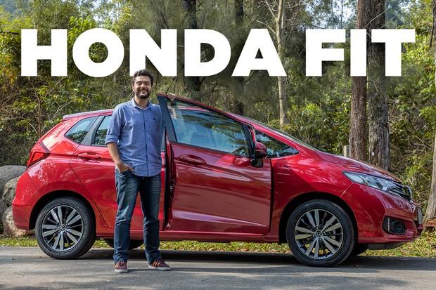 Vídeo: Honda Fit 2019 (Foto: Divulgação)