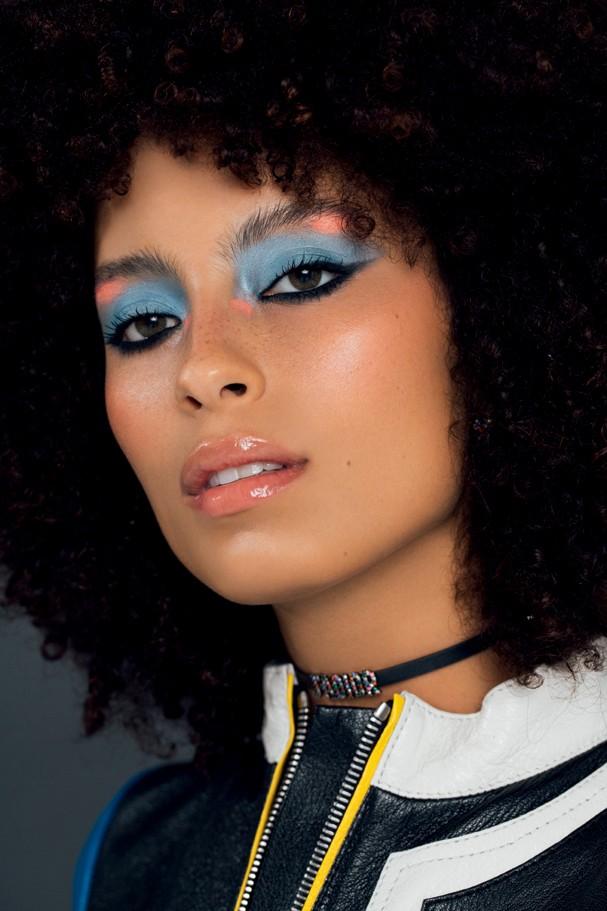 Sombra colorida (Foto: Takeuchiss / Arquivo Glamour)