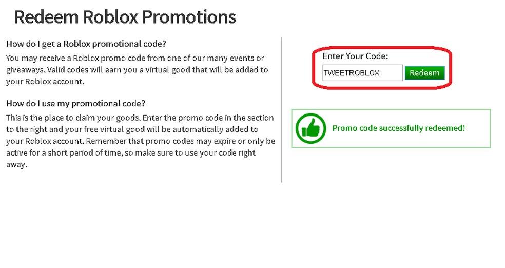Roblox Veja Lista Com Promo Codes Para O Jogo E Aprenda A