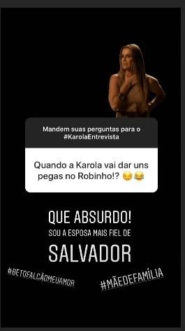 Deborah Secco fala da sua personagem Karola no Instagram (Foto: Reprodução / Instagram)