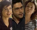 Maura (Nanda Costa), Ionan (Armando Babaioff) e Selma (Carol Fazu) em 'Segundo Sol' | TV Globo