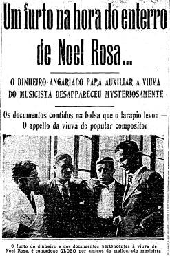 Trecho da edição do GLOBO de 6 de maio de 1937