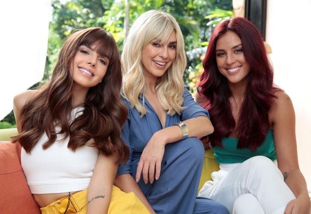 Giovanna Lancellotti, Fernanda Paes Leme e Yanna Lavigne (Foto: Divulgação / L'Oreal)