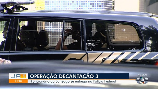 Engenheiro suspeito de participar de fraudes na Saneago se entrega à Polícia Federal em Goiás