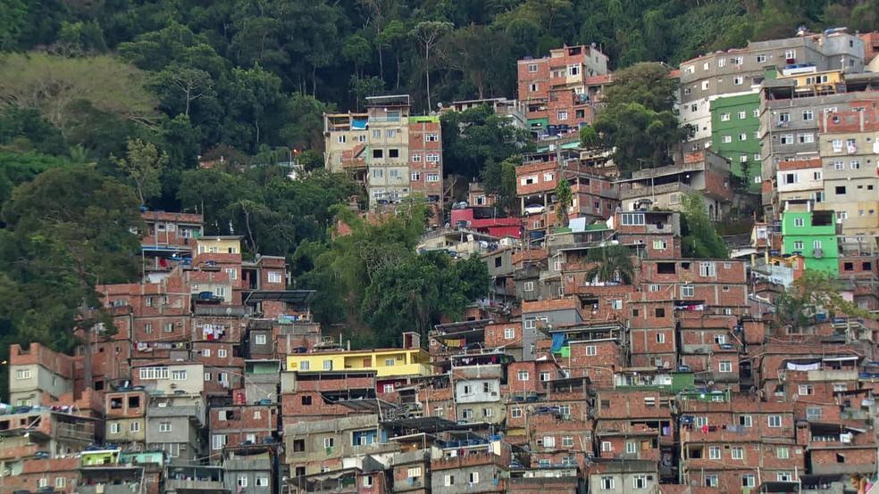Rocinha  (Foto: Reprodução/TV Globo)