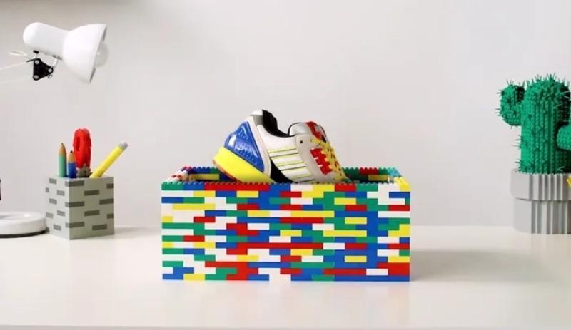 Adidas anuncia novo tênis em parceria com a LEGO (Foto: Reprodução/YouTube)