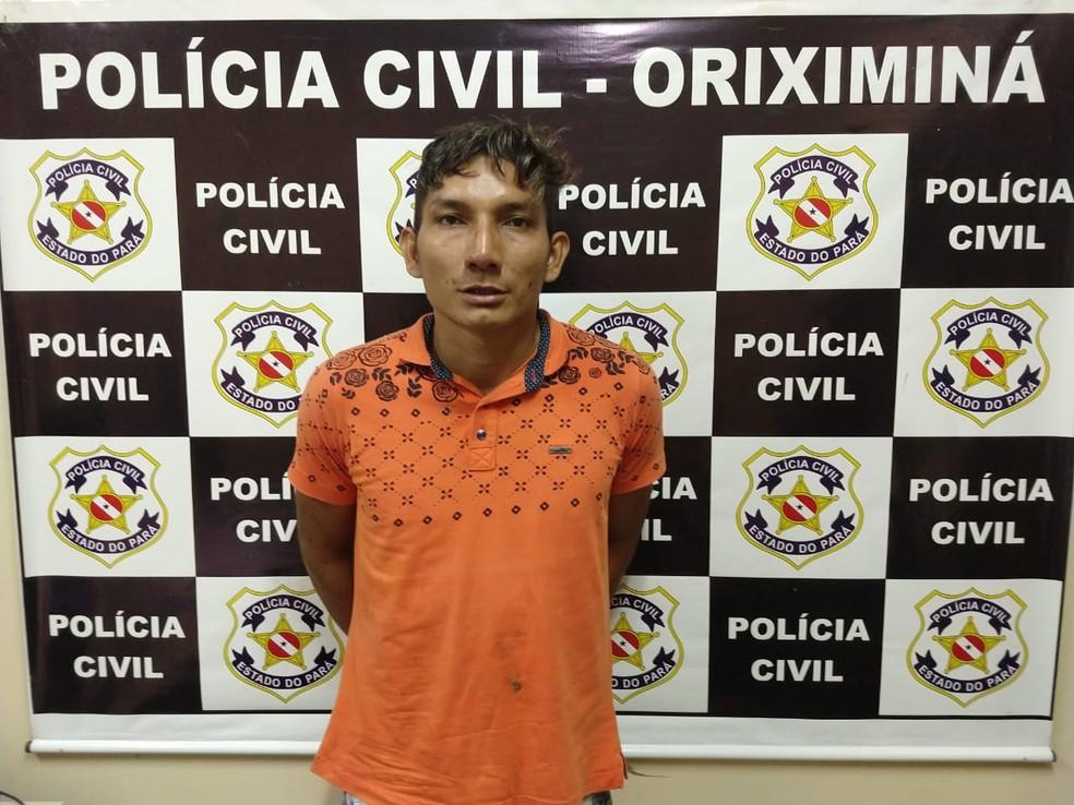 Arilson Barbosa disse à polícia que tinha uma desavença com Luan, por isso tentou matá-lo — Foto: Márcio Garcia/Arquivo pessoal