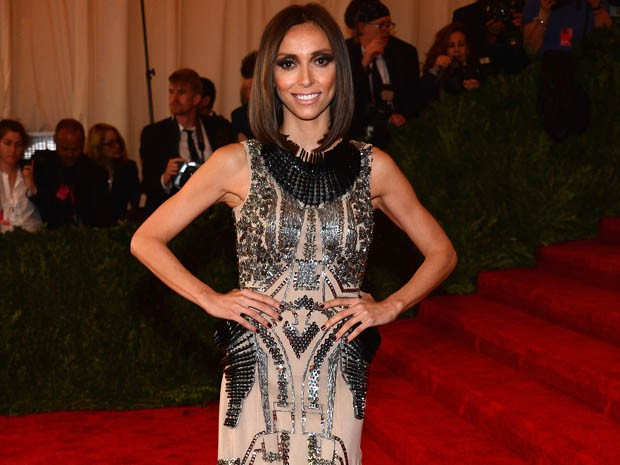 Giuliana Rancic durante a festa de gala do MET de Nova York, em maio de 2013 (Foto: Larry Busacca/Getty Images/AFP )