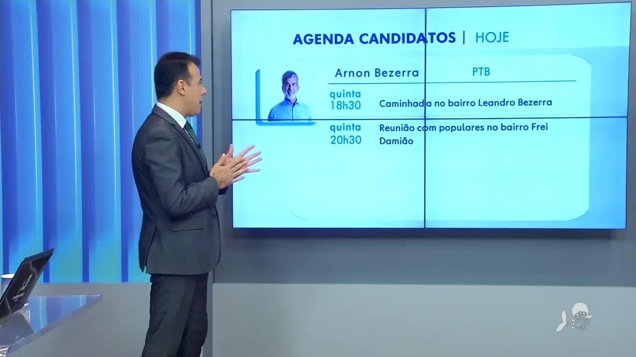 Confira a agenda dos candidatos a prefeito de Juazeiro do Norte