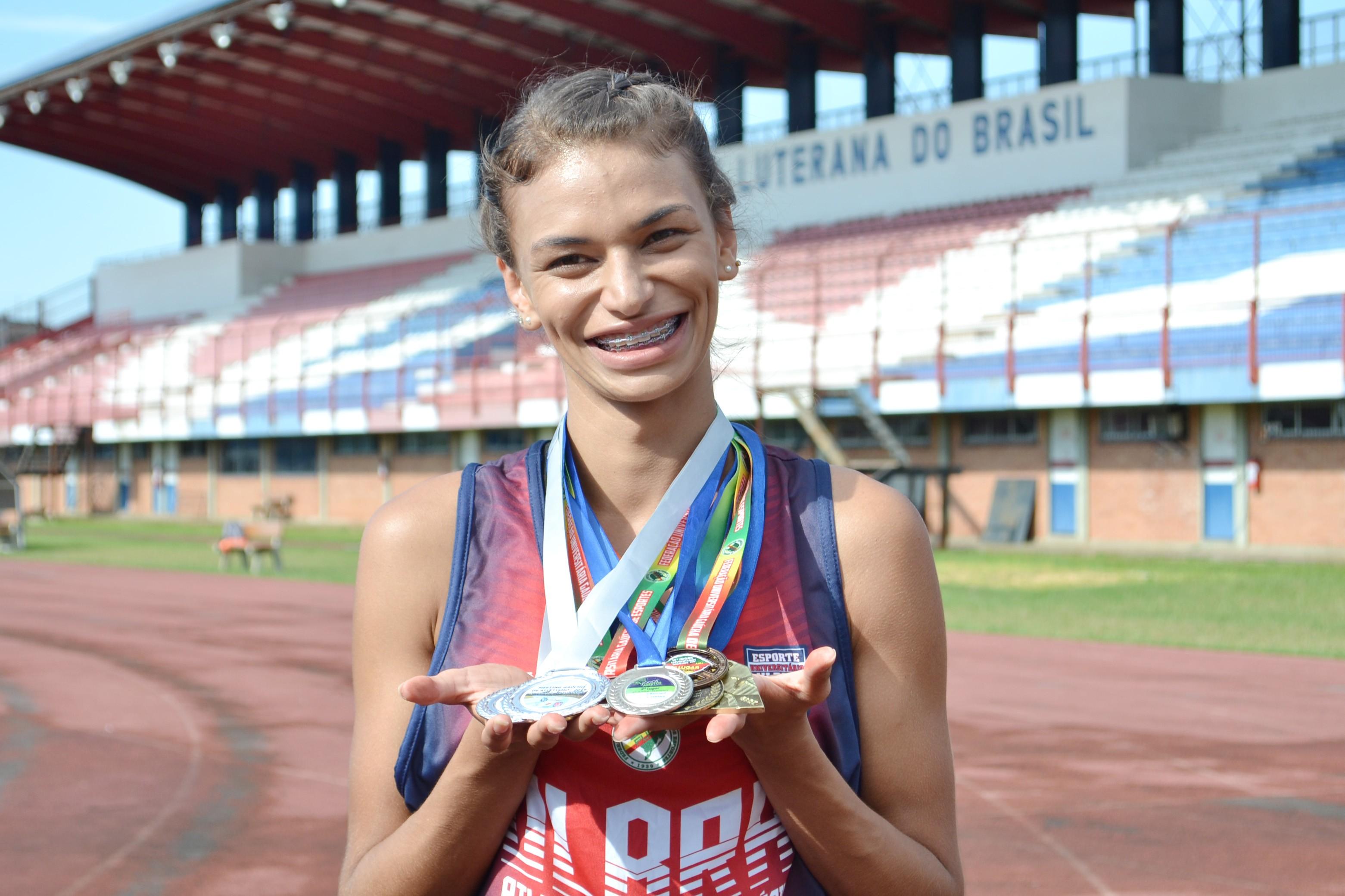 Jovem de Campo Bom é a única representante gaúcha no Mundial de Atletismo de Surdos na Polônia