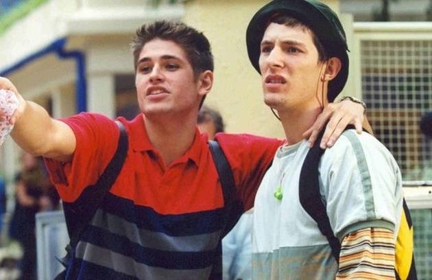 Dado Dolabella (Robson) e Eric Muller (Farofa), em 2001 (Foto: Reprodução da internet)