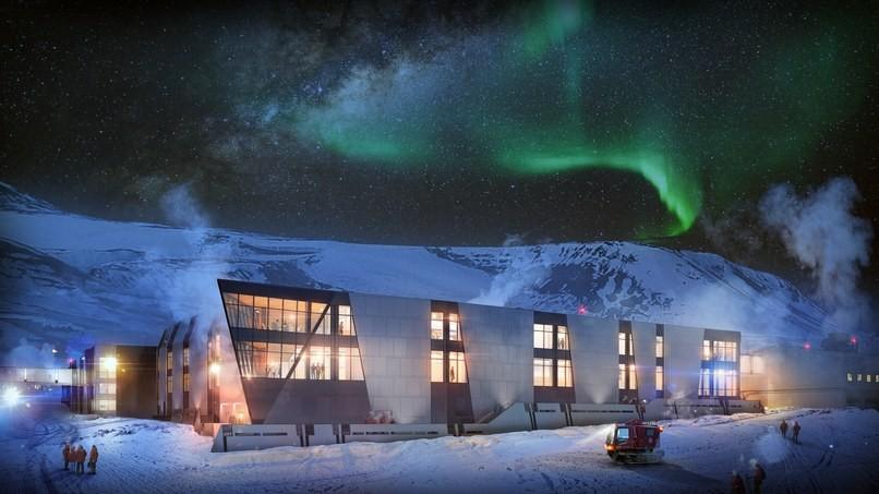 A empresa americana Oz Architecture aceitou o desafio de construir um projeto sustentável para a estação McMurdo (Foto: Reprodução Oz Architecture)