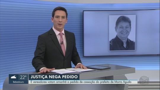 Justiça nega pedido do prefeito de Morro Agudo, SP, para suspender sessão que vai votar cassação dele