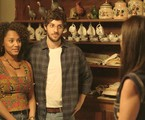 Na segunda-feira (9), Caio, filho de Camila (Jéssica Ellen) e Danilo (Chay Suede) nascerá | Reprodução