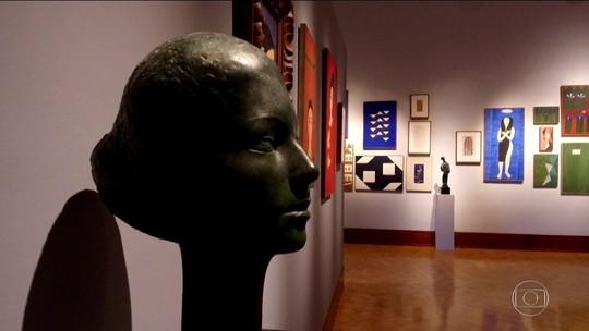Exposição com obras de Volpi e Bruno Giorgi estreia em SP