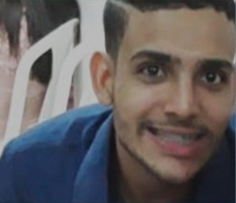 Hermerson Matheus foi preso nesta segunda-feira (19), após Justiça dar novo decreto de prisão — Foto: Reprodução/TVSudoeste