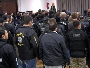 Polícia Civil gaúcha tem cerca de 5,1 mil servidores (Foto: Reprodução/RBS TV)