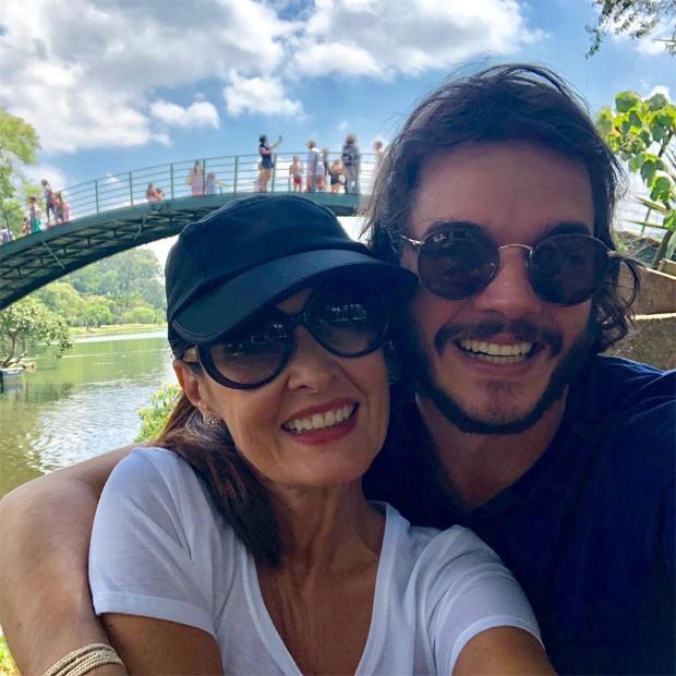 Tulio Gadelha e Fátima Bernades (Foto: Reprodução / Instagram)