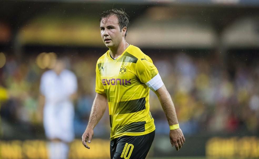 a29abeca9f829 ... Mario Götze quer se transferir para o futebol inglês — Foto  Twitter     BVB