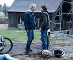 James Paxton (Lukas) e Tyler Young (Philip) em 'Eyewitness' | Reprodução