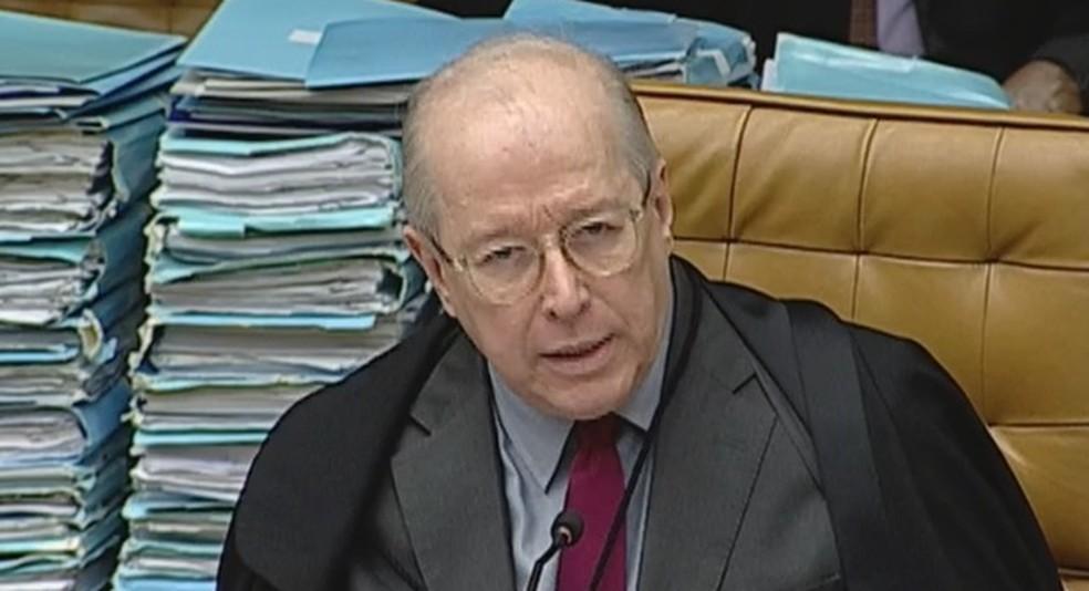 O ministro Celso de Mello, do STF (Foto: Reprodução/TV Justiça)