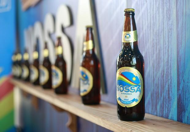 Cerveja Nossa é a nova marca da Ambev para o mercado pernambucano (Foto: Brenda Alcântara/Ambev)