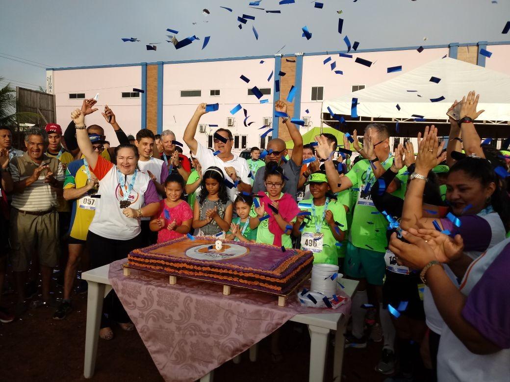Ijoma comemora oito anos de serviços em Macapá com ação social e corrida