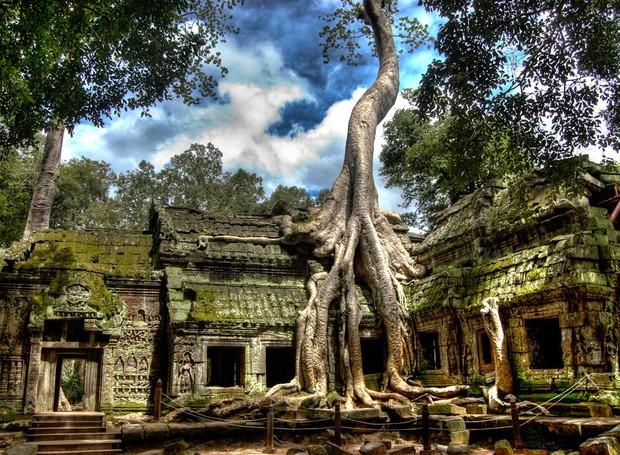 Construções abandonadas foram modificadas pela natureza e se tornaram lugares paradisíacos (Foto: Getty Images/ Reprodução)