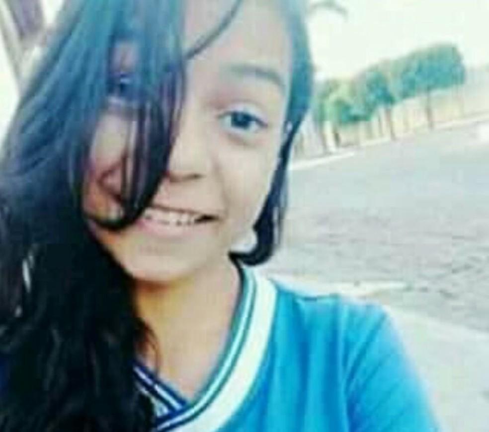Kamila da Silva Rodrigues tinha 14 anos (Foto: Arquivo Pessoal)