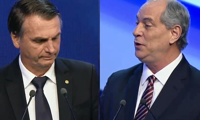 Jair Bolsonaro e Ciro