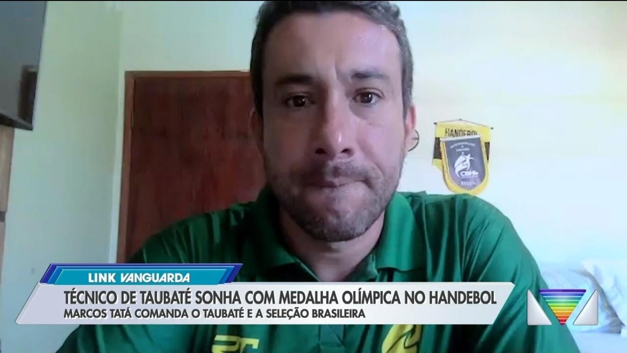 Técnico de Taubaté sonha com medalha olímpica no handebol