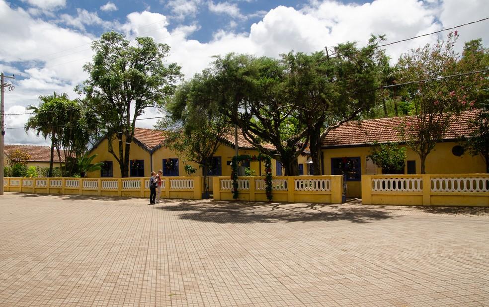 Museu Casa de Portinari volta a permitir visitas presenciais — Foto: Érico Andrade/G1