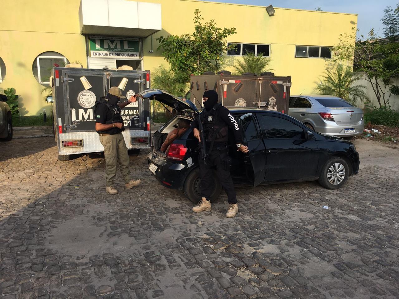 Operação cumpre mandados de prisão contra acusados de roubo, tráfico e homicídio em Teresina