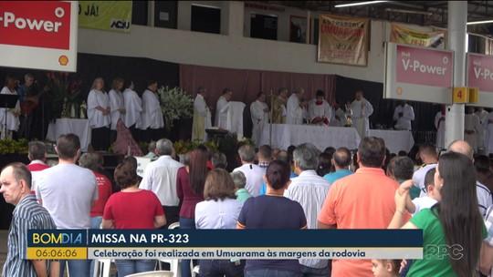 Celebrada em nome das vítimas da PR-323, missa virou tradição