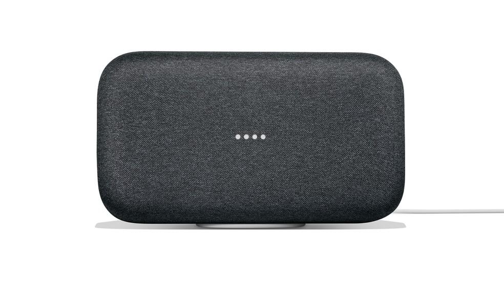 Google Home Max é versão do dispositivo inteligente do Google focada em qualidade de som (Foto: Divulgação)