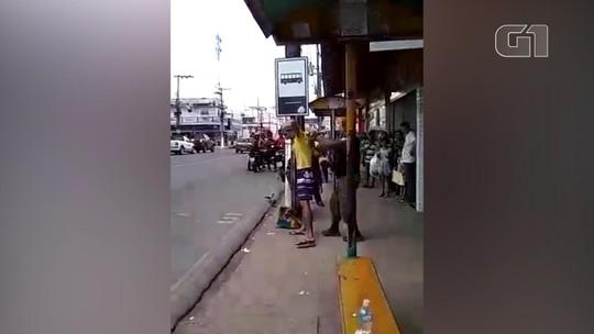 Homem é preso após esfaquear outro no centro comercial de Santarém