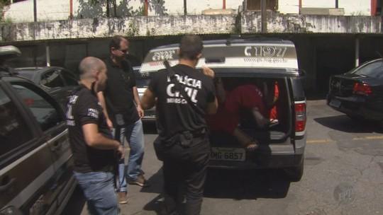 Grupo suspeito de aplicar golpes em lojas é preso em Poços de Caldas, MG