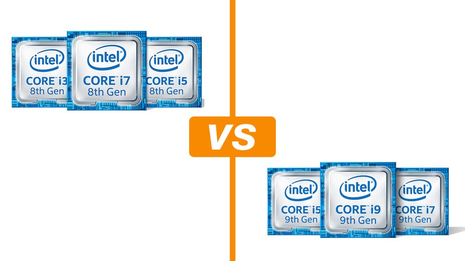 Intel Core de 8ª geração vs 9ª geração: veja o que muda nos