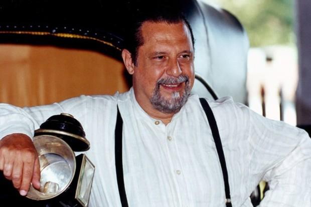 Antonio Fagundes, como Gumercindo, em Terra Nostra (Globo, 1999) (Foto: Divulgação/TV Globo)