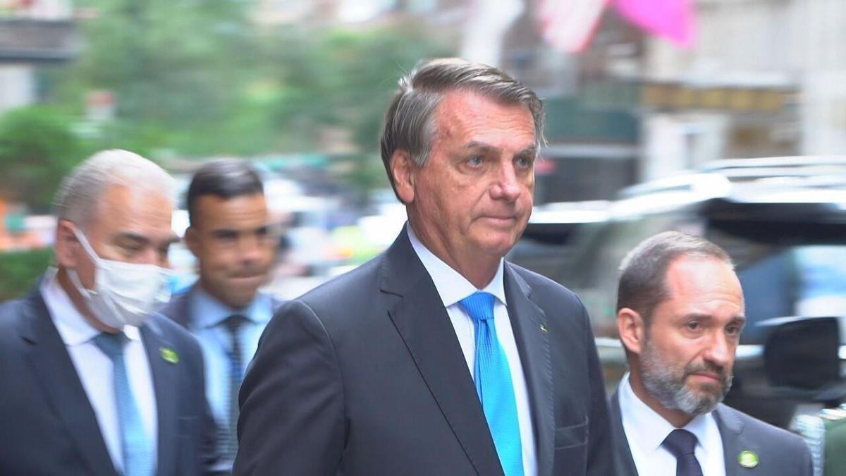 Fantástico reconstitui o dia a dia da comitiva de Bolsonaro em Nova York