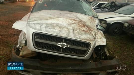 Dois homens morreram depois de um acidente na PR-466, em Guarapuava