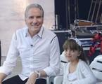 Roberto Justus e Rafaela | Antonio Chahestian/Record TV