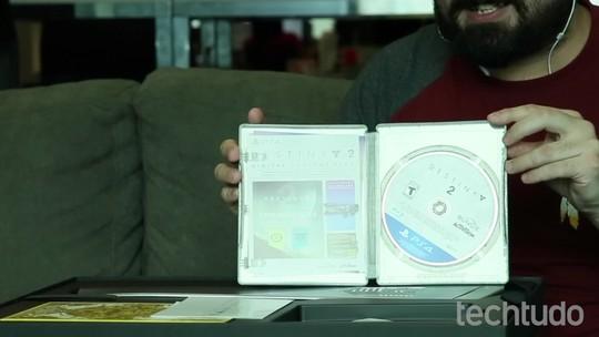 Unboxing: edição de colecionador de Destiny 2 traz itens de sobrevivência