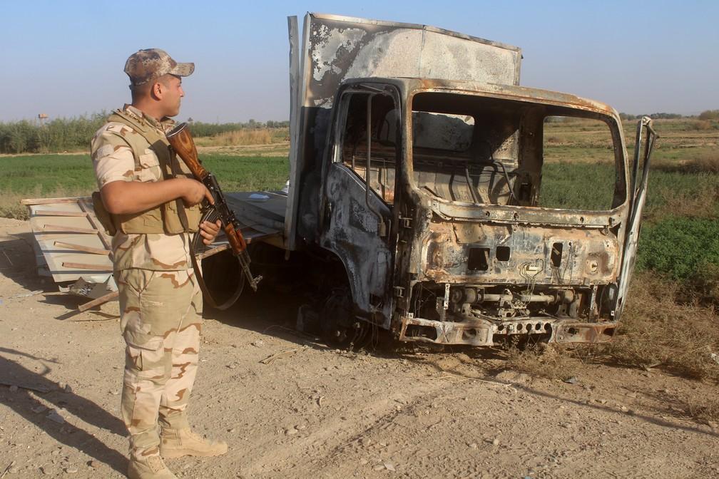 Estado Islâmico perdeu 95 por cento do território que controlava
