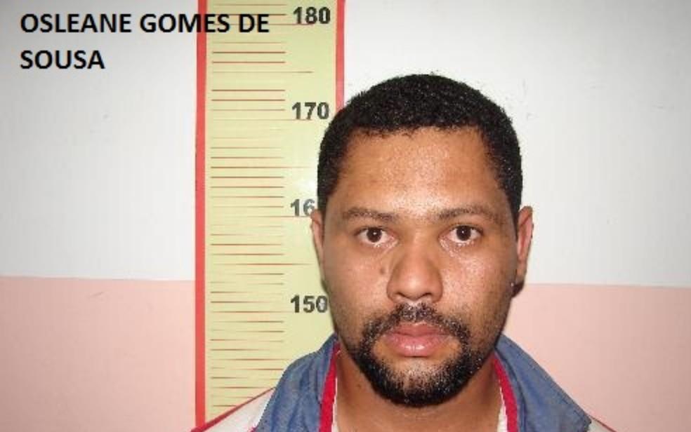 Osleane Gomes de Souza, que fugiu da cadeia de Uruaçu, em Goiás — Foto: DGAP/Divulgação
