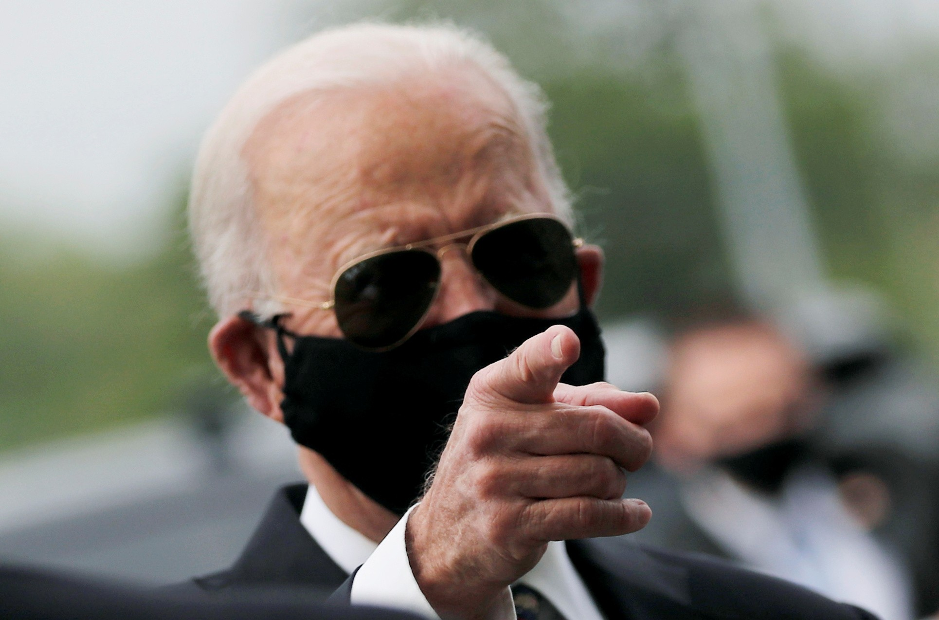 Joe Biden faz primeira aparição pública desde março