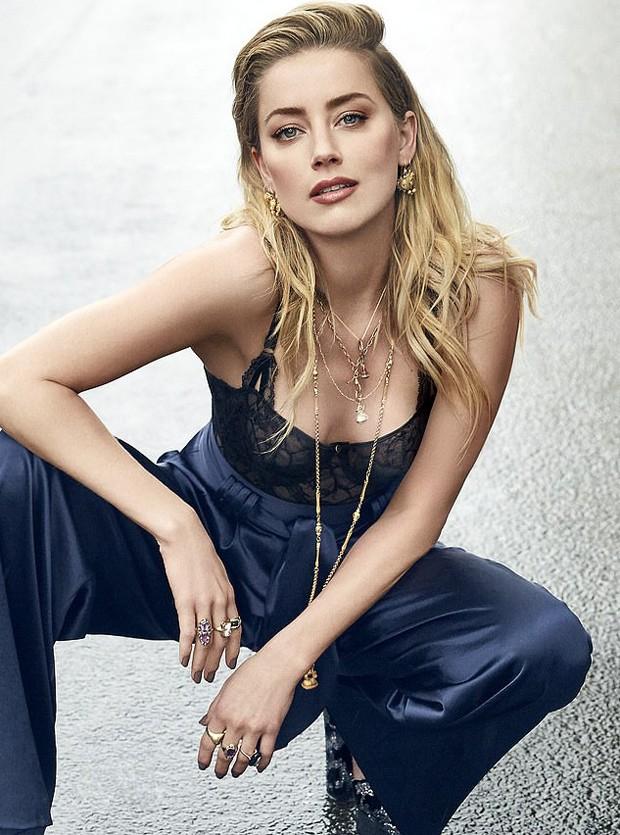 Amber Heard (Foto: Divulgação/Shape Magazine)