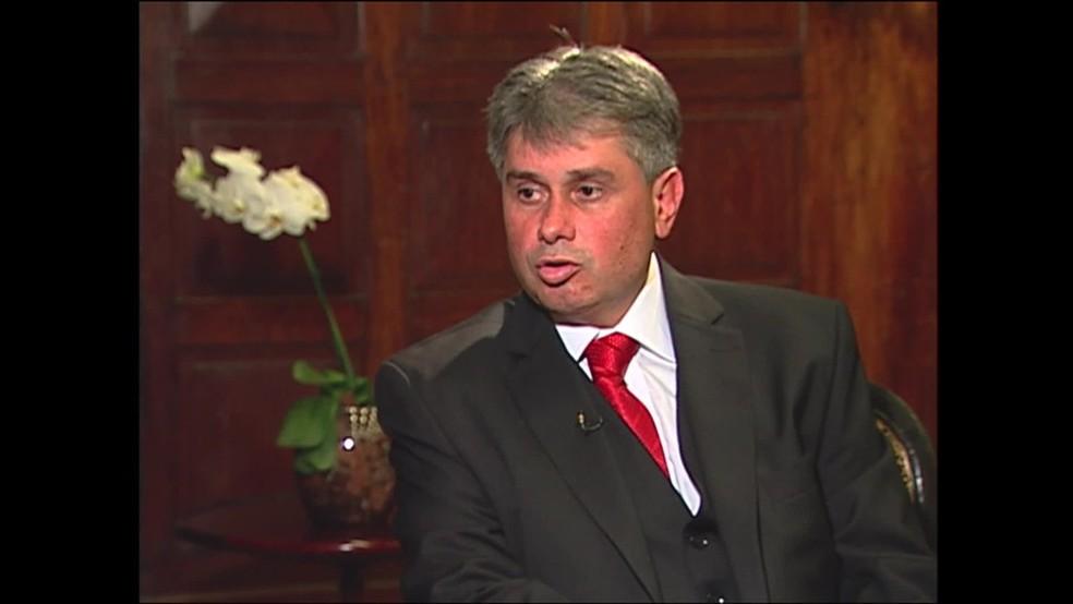 Ex-procurador Cláudio Lopes, suspeito de receber propina — Foto: Reprodução/TV Globo