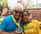 Cláudio e Carol Barcellos | Arquivo pessoal